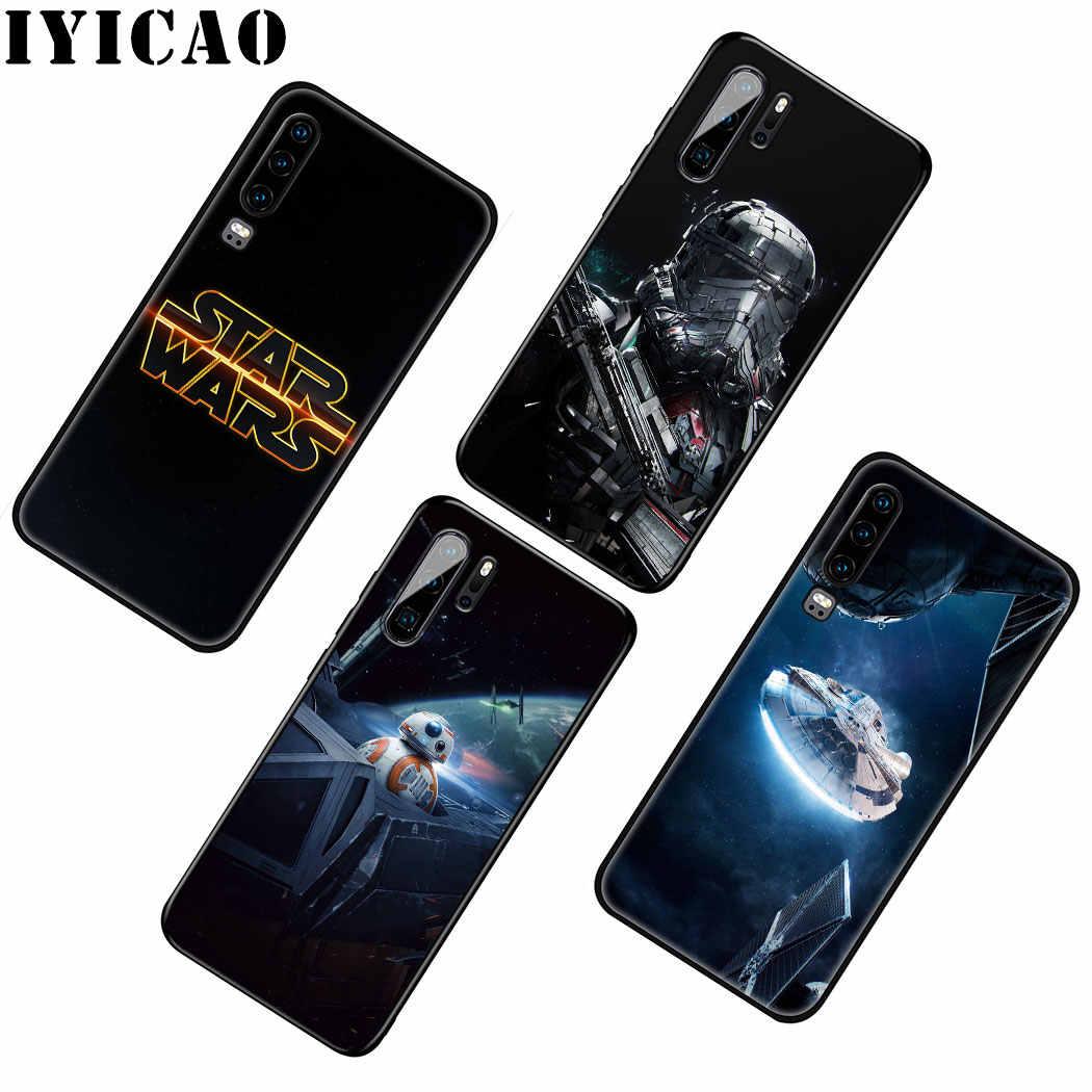 IYICAO STAR WARS Comics DARTH suave de silicona caso para Huawei P Smart Z Plus 2019 P30 P20 P10 Lite Pro teléfono caso