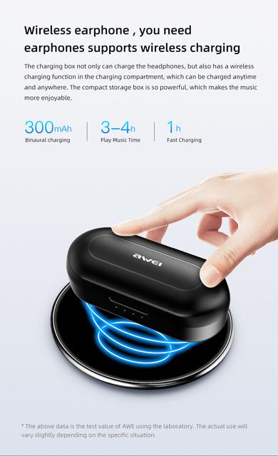 TWS Bluetooth 5.0 Intelligent Touch Control Handsfree True Wireless Earbuds