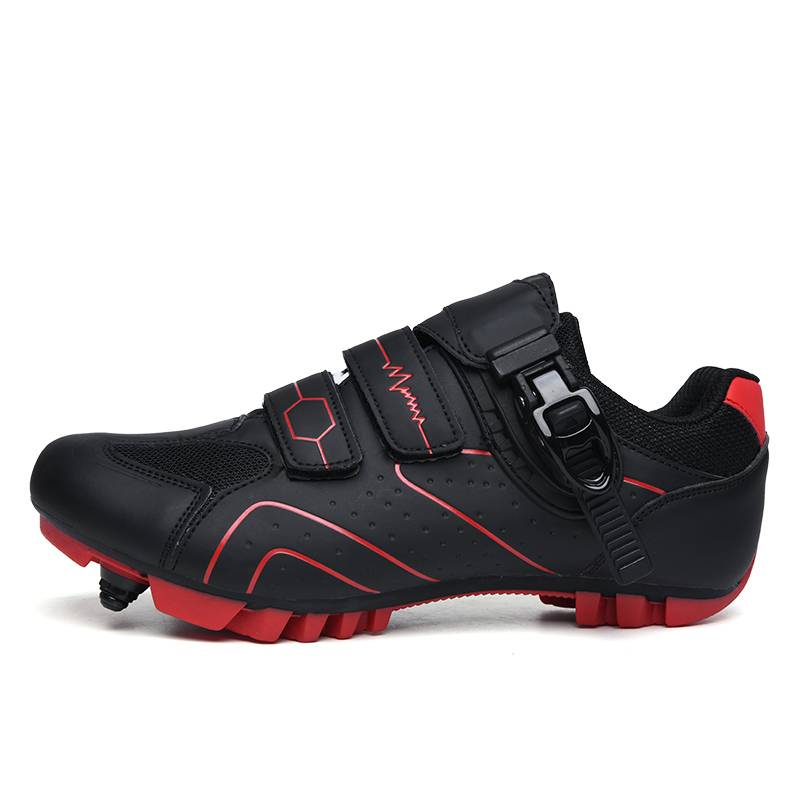Обувь для езды на велосипеде для мужчин; обувь для спорта на открытом воздухе; обувь для езды на велосипеде с самофиксацией; профессиональна...