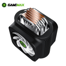 RGB CPU Cooler Cooling-Fan Heat-Pipes Quiet Lga 2066 Gamemax AM3 Intel Pwm Rgb 1366 115x775