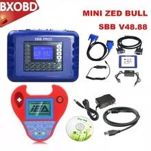 Смарт Zed-bull Mini программатор ключей SBB Pro2 транспондерный ключ программист мини Zed-bull OBD2 Ключ чайник Мини ZEDBULL V508 без маркеров