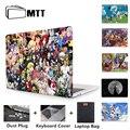 Чехол для ноутбука MTT  чехол для Macbook Pro 13 15 16 дюймов A1989 A2141  мультяшный чехол для Mac book Air 11 6 12 Pro Retina 13 3 15 4 дюйма Fumda