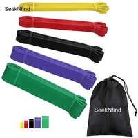 Bandas elásticas para hacer ejercicio de 208Cm bandas de goma bandas de resistencia pesadas bandas elásticas para Yoga expansor de bucle para deportes de entrenamiento