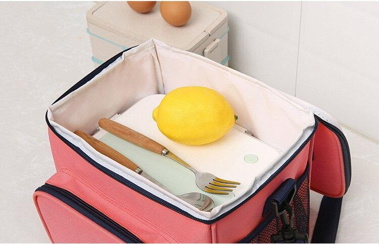 bolsa tote isolado gelo pacote portátil piquenique