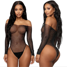 Sexy Women's Teddy Outfit Fashion Hot Drill Taste Erotic Lingerie Fishnet Transparent Sexy Stockings Tights Erotic Underwear