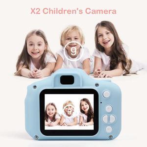 Image 3 - 1080P 720P Mini Digital Camera for Children Kids Baby Cameras Camcorder Video Child Cam Recorder Digital Camcorders Blue Pink