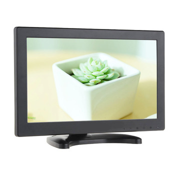 11.6 inch 1366*768 tft lcd monitor home security hd monitor with AV/BNC/VGA/HDMI/USB and speakers