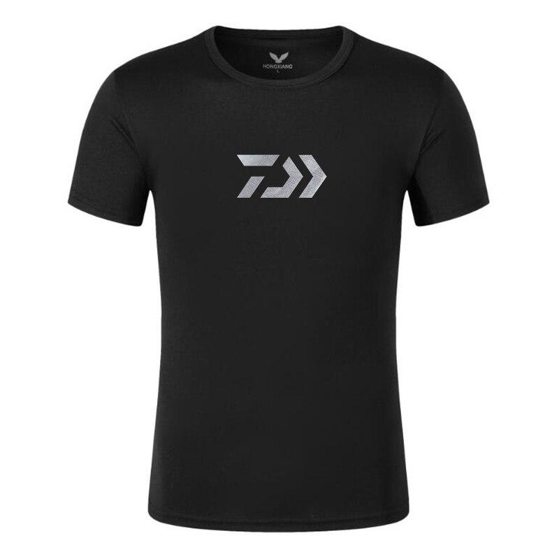 2020 New Daiwa Fishing Clothes Outdoors Sports Fishing T-shirt Men  Fishing Shirt Quick Dry Sport Breathable Clothes Shirt