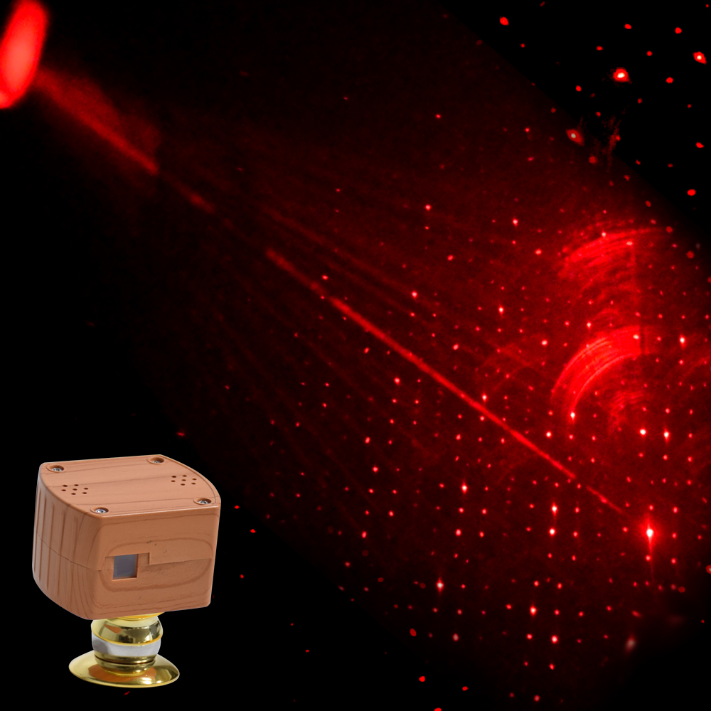 Home /& Car Roof Lights Romantic USB Night Light Car Atmosphere Lamp for Party~