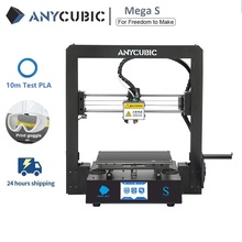 Anycubic 3D 프린터 Mega S 3d 인쇄 키트 플러스 사이즈 MegaS 풀 메탈 터치 스크린 3d 프린터 Mega S 3D Drucker Impresora 3d