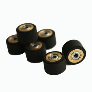 Image 3 - 10pcs Pinch Roller Roland Mimaki GCC Liyu Graphtec Inkjet Printer Vinyl Cutter Cutting Plotter Roll 5x11x16mm Rubber Copper Core