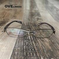 prescription glasses frame women titanium optical glasses frame men gun spectacle frames full rim computer glasses myopia glasse
