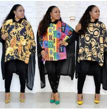 African Dashiki Dress Print Shirt Ethnic Bazin Elegant Abaya Belt Long Maxi Robe Gowns Sexy Lady Rich Evening Party Traditional(China)