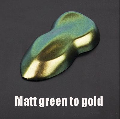 Премиум матовая/блестящие Меняющие цвет с перламутровым блеском виниловая наклейка на машину весь корпус обёрточная пленка Алмазный Блеск для винилового пленки - Color Name: Matt green gold