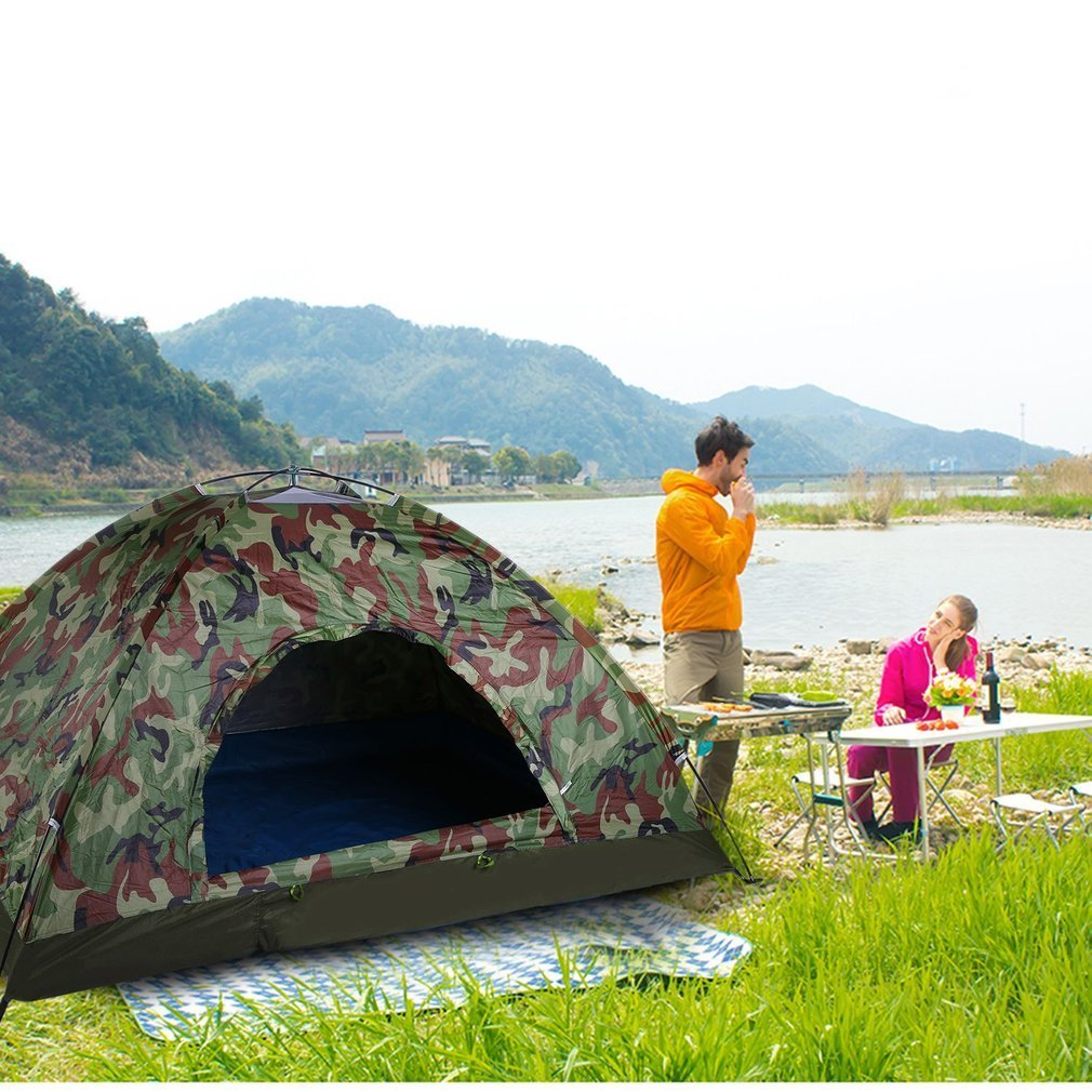 Camouflage Fishing Tent Outdoor Portable Camping Waterproof Lightweight Hunting
