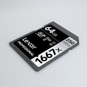 Image 5 - Lexar SD Card 150MB/S Tarjeta Carte SD 64 GB 32 GB Kaart 1667x UHS II Cards Tablet U3 Flash Memory Card For 3D 4K Digital Camera