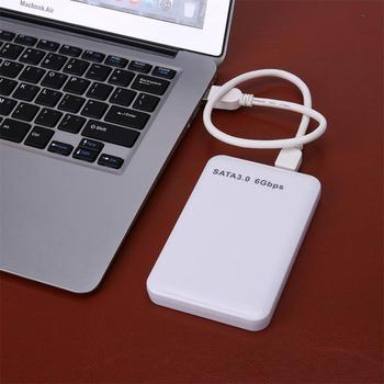 USB 3.0 SATA 3.0 HDD Hard Disk Drive External HDD Enclosure Case Tool Free 6 Gbps Support 3 TB UASP Protocol Case image
