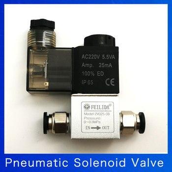 цена на Air Solenoid Valves 2V025-08 2 Position 2 Port 1/4