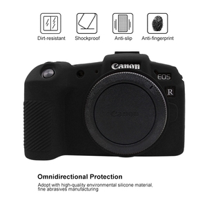 Image 2 - PULUZ Zachte Siliconen Rubber Camera Beschermende Body Cover Skin Case voor Canon EOS RP SLR Camera Tas Behuizing protector Cover