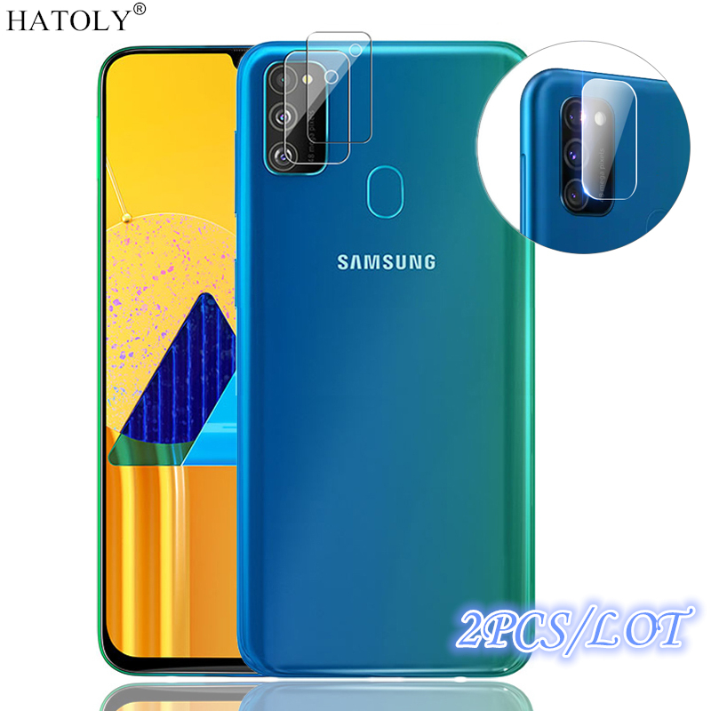 2Pcs For Samsung Galaxy M30S Camera Lens Protector Glass HD Protective Tempered Glass Phone Camera Glass For Samsung M30S Film