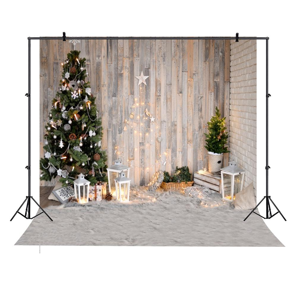 Yeele Christmas Tree Light Carpet Star Baby Wood Board Brick Wall Photography Background Photographic Backdrops for Photo Studio Background    - AliExpress