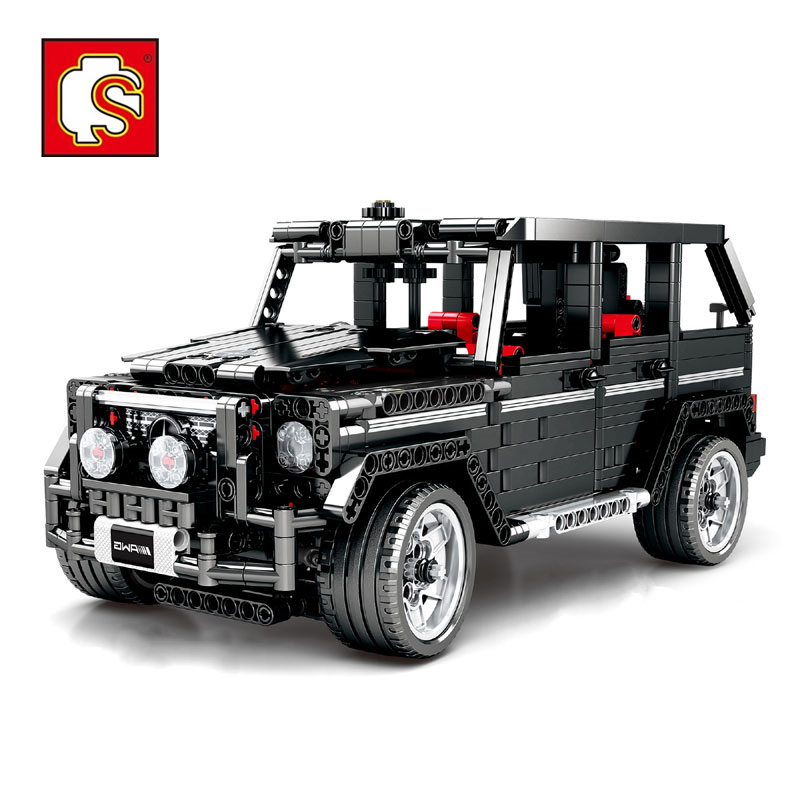 Sembo <font><b>701960</b></font> Compatible legoinglys Technic series G500 Mercedesal benzg big G model building blocks set Classic Technic series image