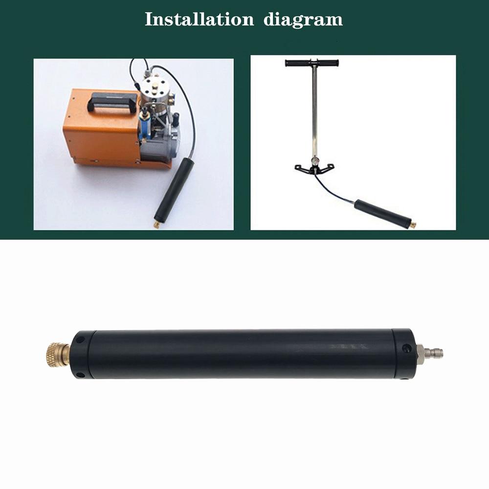 PCP Scuba Inflator Air Compressor High Pressure Air Filter Compressor Oil And Water Separator High Pressure Pump 40MPA 300BAR