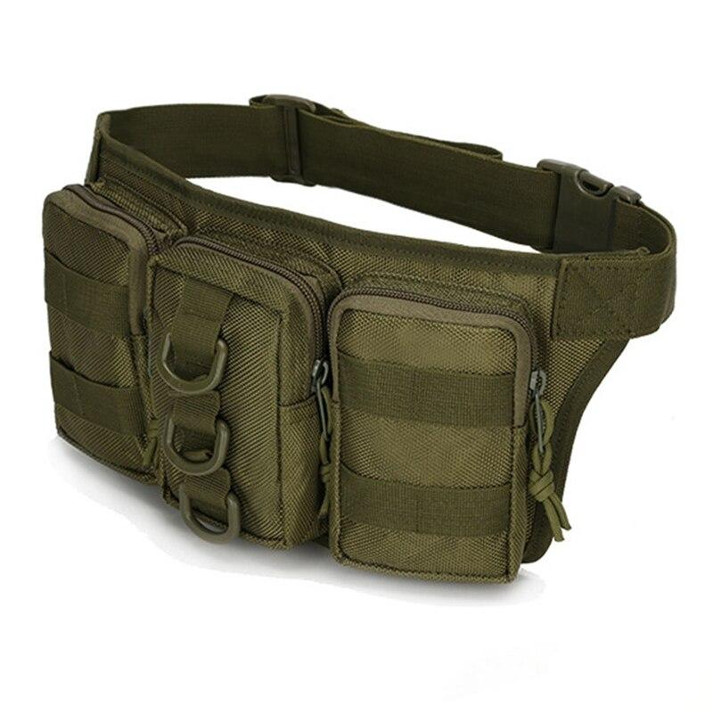 Outdoor Travel Military Tactical Waist Bag Women Men Safe Multifunctional Hiking Camping Camouflage Bag