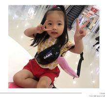 Fashionable Bag for Child Cute Shoulder Bag Crossbody Bag Boys Girls Stylish Bag Soft Cotton Casual Leisure For Party Daily(China)