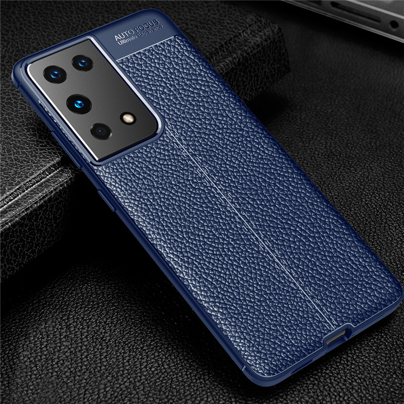 Galaxy S21 Plus Leather Case