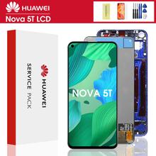6 26 #8221 dla Huawei Nova 5T YAL-L21 L61A L71A ekran LCD + wyświetlacz dotykowy wymiana Digitizer z ramką dla Huawei Nova 5t wyświetlacz tanie tanio CN (pochodzenie) Ekran pojemnościowy 2160x1080 3 For Huawei Nova 5T LCD LCD i ekran dotykowy Digitizer 2340*1080 LCD Display+Touch screen digitizer