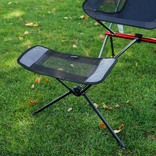 HooRu Camping Chair Retractable Footrest Portable Folding Connectable Chair Rest Backpack Beach Fishing Outdoor Chairs Foot Rest