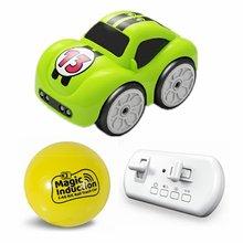 Радиоуправляемый умный датчик дистанционного управления мультяшный мини-радиоуправляемый светодиодный электрический автомобиль режим у...