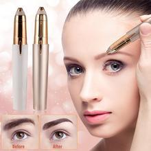 Electric Mini Eyebrow Trimmer  Hair Remover Epilator Mini Eyebrow Shaver Razor Instant Painless Portable Epilator Shaving