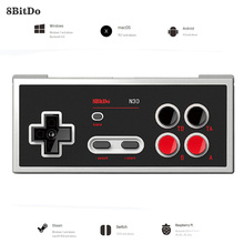 цена на 8BitDo N30 Windows Switch Controller Bluetooth Gamepad Joystick For Nintendo Switch NES Android macOS