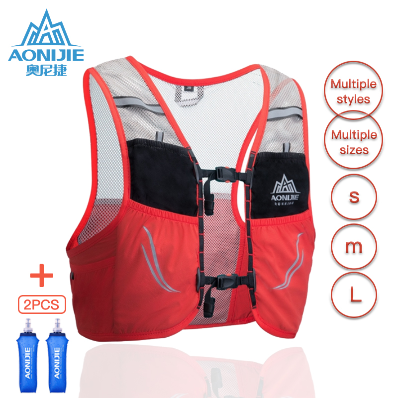 AONIJIE Hydration Pack Backpack Rucksack Bag Vest Harness Water Bladder Hiking Camping Running Marathon Race Climbing 2.5L C932