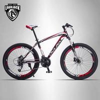 LAUXJACK Mountain Bike Steel Frame 24 Speed Shimano 26 Wheel MTB