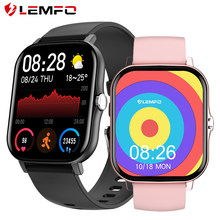 LEMFO GTS 2 Smartwatch 2021 IP68 Waterproof 1.7 inch DIY Dial 15 Days Standby Fitness Sports For amazfit gts 2 Smart Watch Men