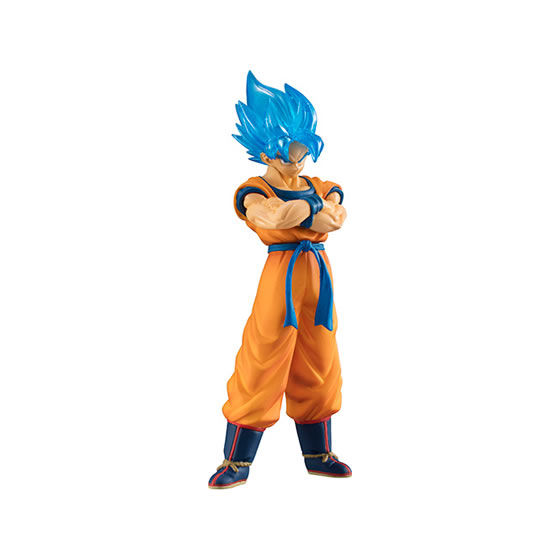 "Image 4 - Original Bandai HIGH GRADE REAL FIGURE Gashapon PVC Toy 02   Full Set 5 PCS Broly Goku Gogeta Whis ""Dragon Ball SUPER""Action & Toy Figures   -"