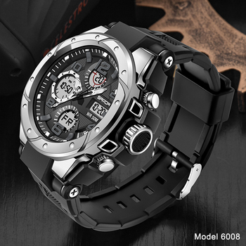 SANDA Top Luxury Watches Men Military Army Mens Watch Waterproof Sport Wristwatch Dual Display Watch Male Relogio Masculino 15
