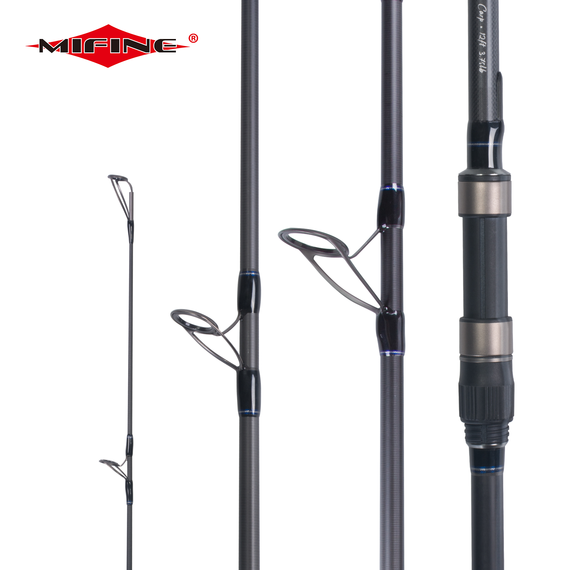MIFINE BUDEFO CARP Fishing Rod 3.25/3.75/4.25LBS 3.6/3.9M High Carbon Spinning Rod Hard Pole Surf Rod Throwing Shot 80-160M