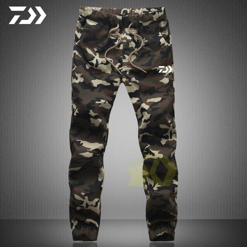 Daiwa Camouflage Pants Men In Men's Casual Pants Fishing Pants Tactical Hunting Pants Outdoor Sweatpants Sports Fishing Clothing