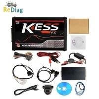 2019 Online V2.47 EU Red KESS V5.017 OBD2 Manager Tuning Kit KTAG V7.020 4 LED KESS V2 5.017 K TAG 7.020 ECU Programmer
