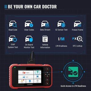 Image 3 - LAUNCH X431 CRP123i OBD OBD2 Coder Reader Scanner 4 System Diagnostic OBD 2 Auto Scanner Car Diagnostic Tool Automotive Scanner
