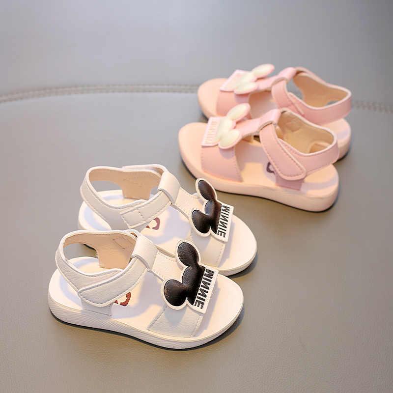Babayaรองเท้าแตะเด็กรองเท้าเด็ก 2020 ฤดูร้อนใหม่เด็กวัยหัดเดินbechรองเท้าBreathableรองเท้าSoft Sole