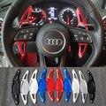 Весло переключения для Audi R8 Spyder RS3 8V Sportback Limousine RS4 Avant RS5 B9 Coupe RSQ3 RSQ8 TTRS автомобильный рулевой переключатель DSG