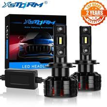 Ampoules de voiture, phares Led H3 H4 H7 H8 H11 HB3 9005 HB4 9006, Mini 100W 16000lm, 2 pièces
