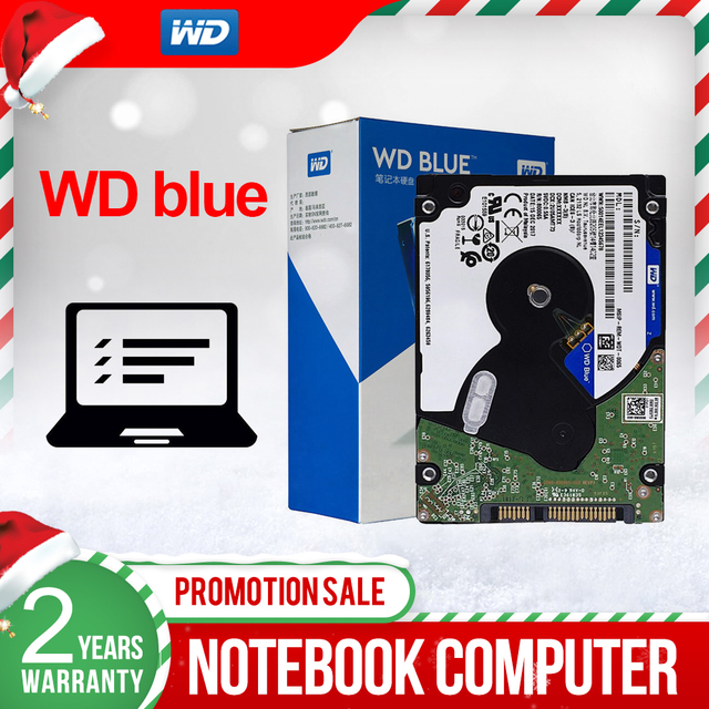 Western Digital  WD Blue 4TB Mobile Hard Disk Drive 15mm 5400 RPM SATA 6Gb/s 8MB Cache 2.5 Inch for PC WD40NPZZ