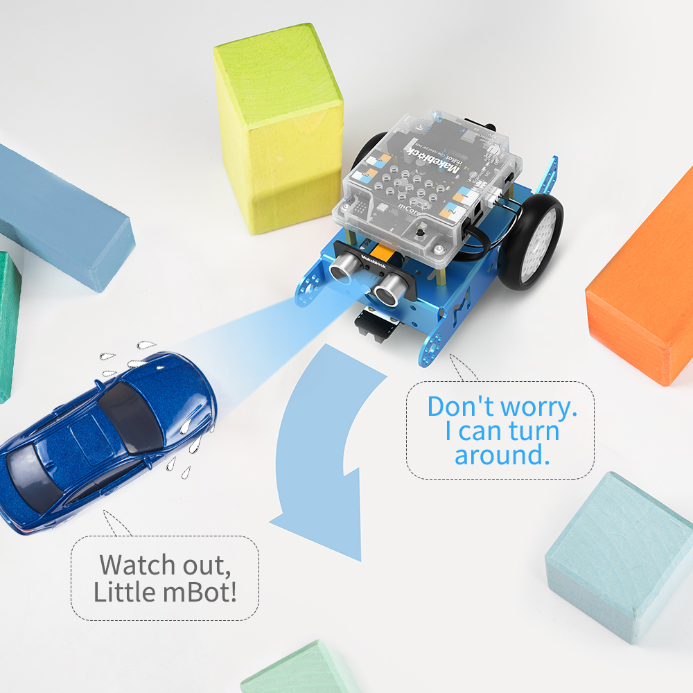 ôUltimate SaleMakeblock Robot-Kit STEM Education. Blue-Bluetooth-Version Kids DIY Mbot for