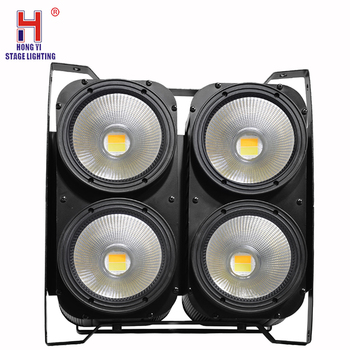 Combination 4x100W 4Eyes Led Light COB Cool/Warm White LED High Power Professional Stage Lighting For Party Dance Floor